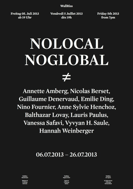 Affiche No Local No Global