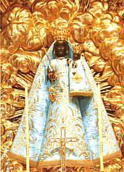 Hellblau goldenes KLeid