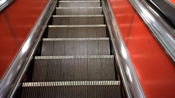 escalator_kálvin tér_2